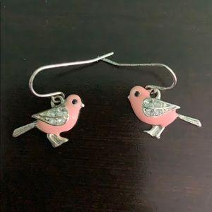 Pink Songbird Earrings